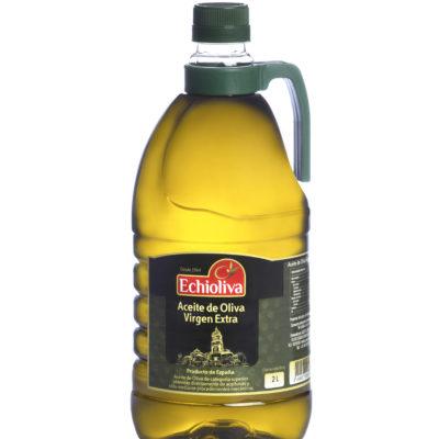 2 litros Pet de aceite de Oliva Virgen Extra Echioliva de Aceites Echinac