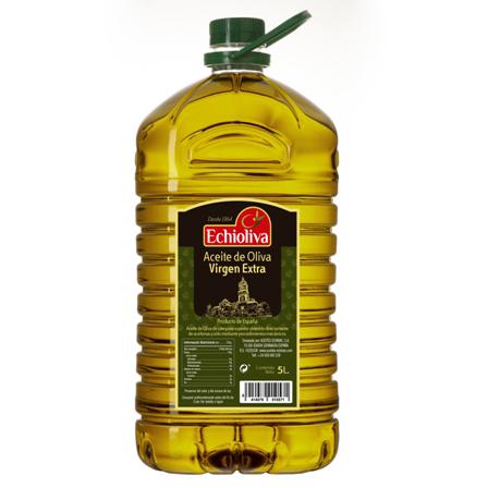 Comprar aceite de Oliva Virgen Extra Echioliva 5 litros