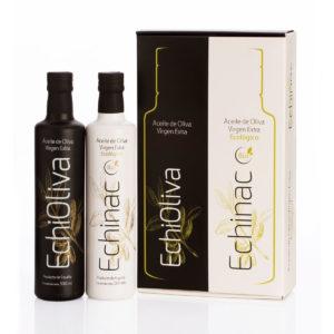 Aceite de Oliva Virgen Extra. 2 x 500 ml-Estuche Premium