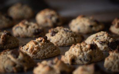 Receta de cookies con pepitas de chocolate y AOVE Echinac