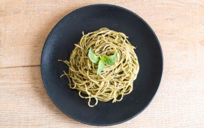 Receta: espaguetis con ajo y aceite de Oliva Echinac