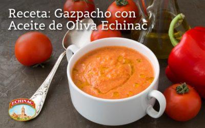 Gazpacho con aceite de Oliva Echinac