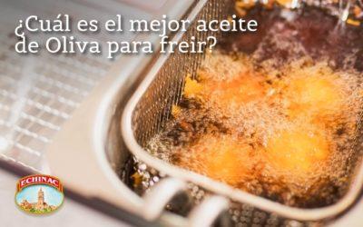 ¿Cuál es el mejor aceite de Oliva para freír?